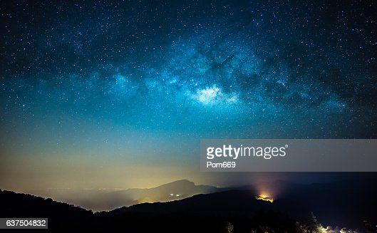 Milky Way : Stock Photo