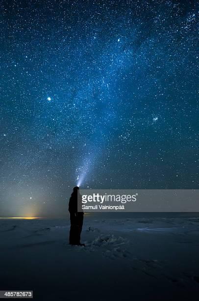 Milky Way seen in Hailuoto, Finland