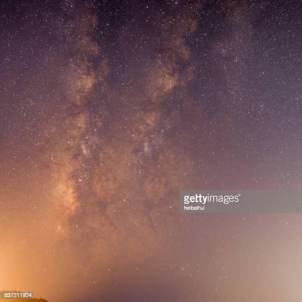 Milky Way nehmen Mehrfachbelichtung, Süd-China