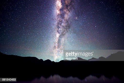Milkyway from Segara Anak - Rinjani Mountain