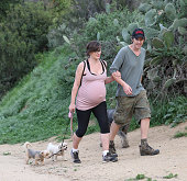 Milla Jovovich and Paul W S Anderson are seen in Los Angeles on March 17 2015 in Los Angeles California