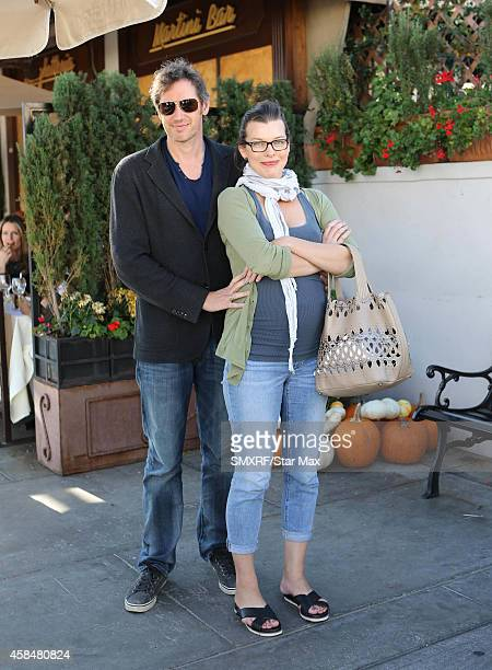 Milla Jovovich and Paul WS Anderson are seen on November 5 2014 in Los Angeles California