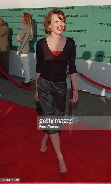 Milla Jovovich arrives