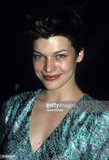 Milla Jovovich at premiere of Step Mom New York December 15 1998