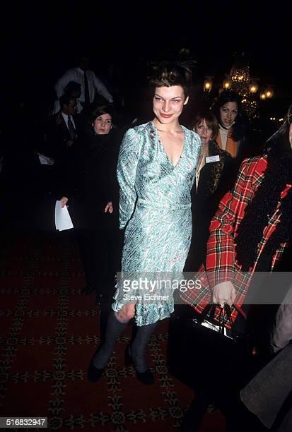 Milla Jovovich at premiere of Step Mom New York December 15 1998
