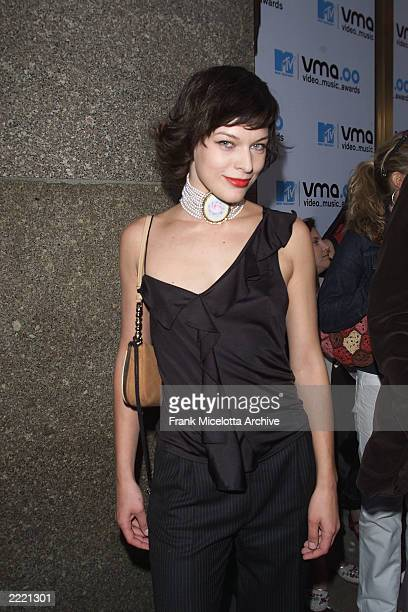 Milla Jovovich at the 2000 MTV Video Music Awards live from Radio City Music Hall in New York City 9/7/2000 Frank Micelotta/ImageDirect