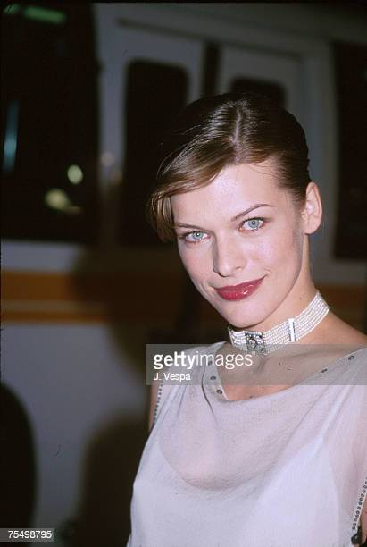 Milla Jovovich at the The Academy in Beverly Hills California
