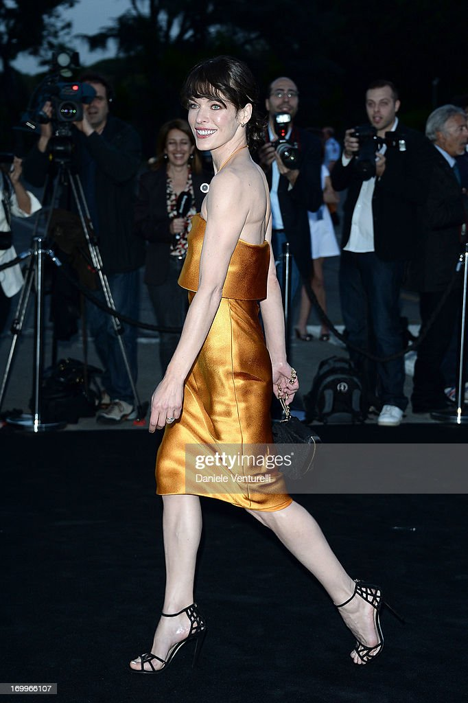 Milla Jovovich attends 'One Night Only' Roma on June 5, 2013 in Rome, Italy.