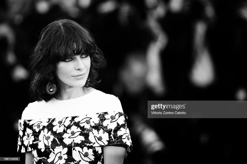 Milla Jovovich attends the 'Blood Ties' Premiere during the 66th Annual Cannes Film Festival at the Palais des Festivals on May 20, 2013 in Cannes, France.