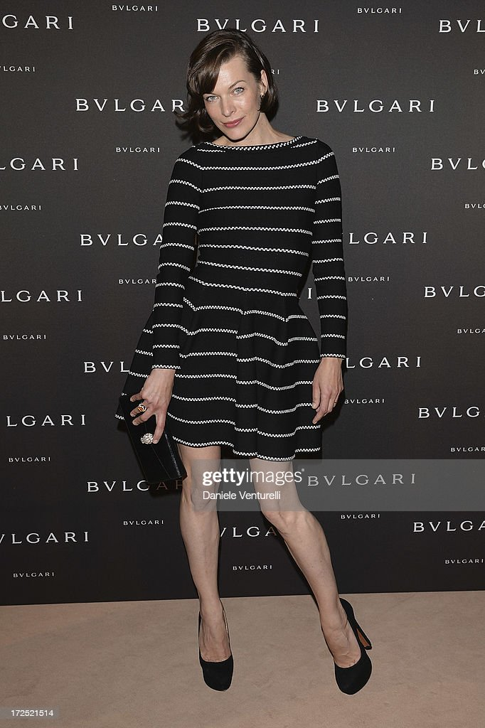 <a gi-track='captionPersonalityLinkClicked' href=/galleries/search?phrase=Milla+Jovovich&family=editorial&specificpeople=202207 ng-click='$event.stopPropagation()'>Milla Jovovich</a> attends the Bulgari Diva Event at Hotel Potocki on July 2, 2013 in Paris, France.