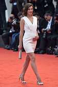 Milla Jovovich attends the 'Cymbeline' Premiere during the 71st Venice Film Festiva on September 3 2014 in Venice Italy