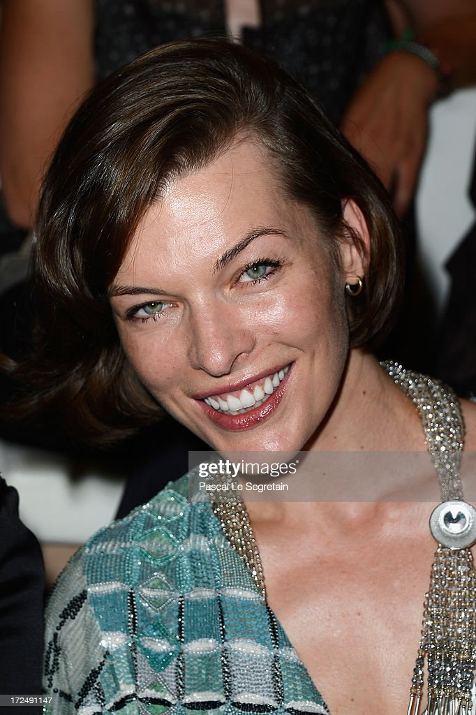 <a gi-track='captionPersonalityLinkClicked' href=/galleries/search?phrase=Milla+Jovovich&family=editorial&specificpeople=202207 ng-click='$event.stopPropagation()'>Milla Jovovich</a> attends the Giorgio Armani Prive show as part of Paris Fashion Week Haute-Couture Fall/Winter 2013-2014 at Theatre National de Chaillot on July 2, 2013 in Paris, France.