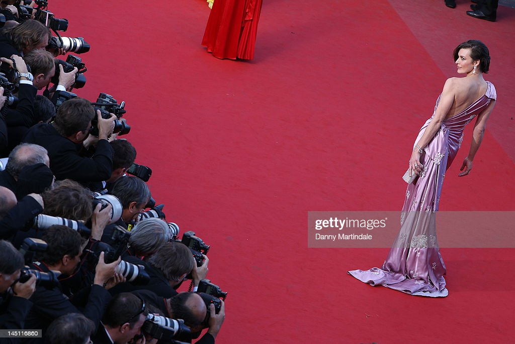 Milla Jovovich attends the 'On The Road' Premiere during the 65th Annual Cannes Film Festival at Palais des Festivals on May 23, 2012 in Cannes, France.