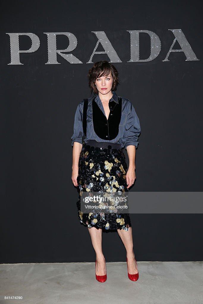 Prada - Front Row - Milan Men's Fashion Week SS17