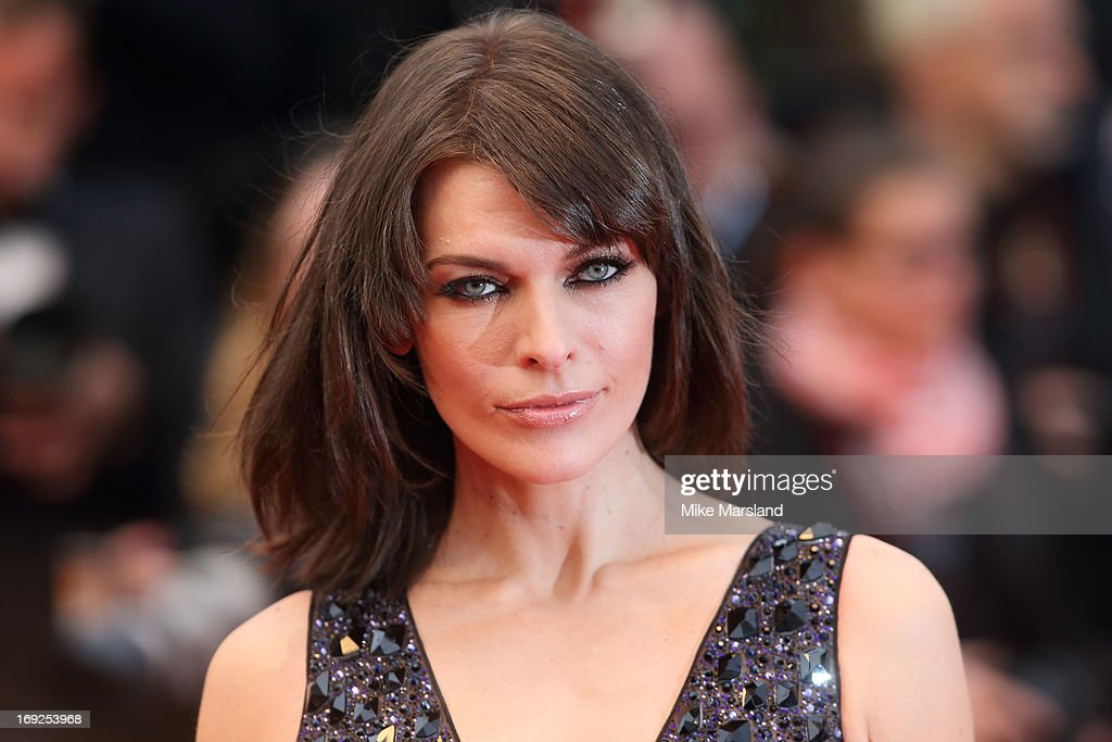 Milla Jovovich attends the Premiere of 'All Is Lost' at The 66th Annual Cannes Film Festival on May 22, 2013 in Cannes, France.