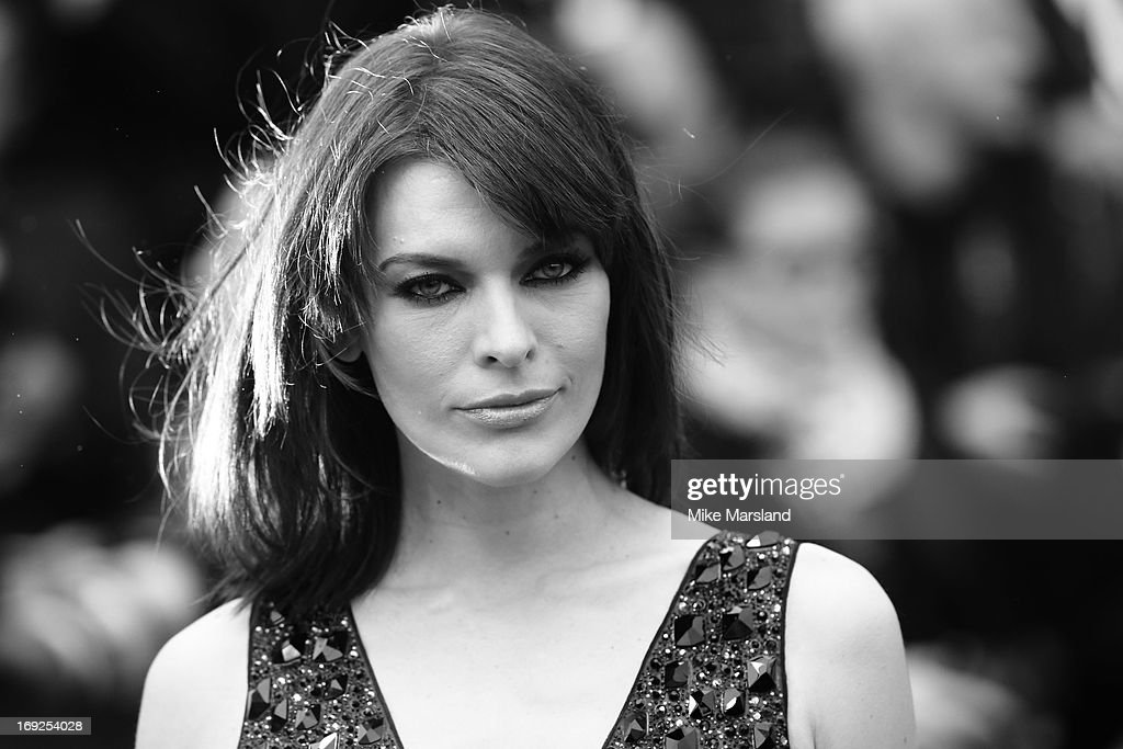 <a gi-track='captionPersonalityLinkClicked' href=/galleries/search?phrase=Milla+Jovovich&family=editorial&specificpeople=202207 ng-click='$event.stopPropagation()'>Milla Jovovich</a> attends the Premiere of 'All Is Lost' at The 66th Annual Cannes Film Festival on May 22, 2013 in Cannes, France.
