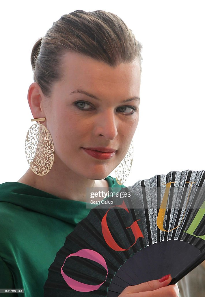 <a gi-track='captionPersonalityLinkClicked' href=/galleries/search?phrase=Milla+Jovovich&family=editorial&specificpeople=202207 ng-click='$event.stopPropagation()'>Milla Jovovich</a> attends the Schumacher Show during the Mercedes Benz Fashion Week Spring/Summer 2011 at Bebelplatz on July 9, 2010 in Berlin, Germany.