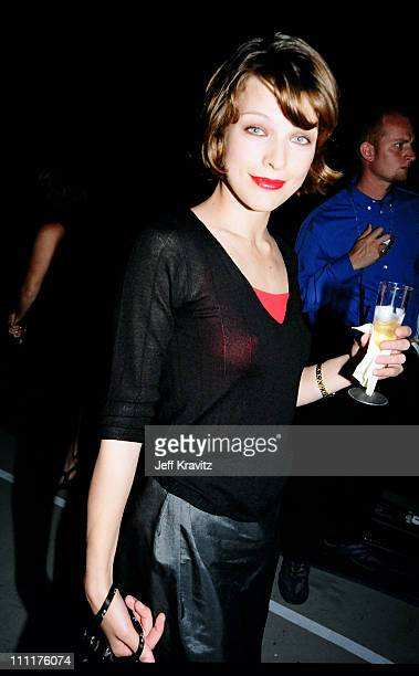 Milla Jovovich during 1998 MTV Movie Awards in Los Angeles California United States