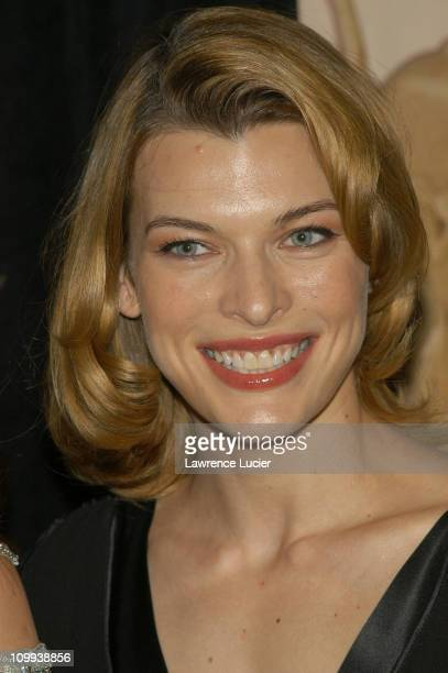 Milla Jovovich during American Cancer Society's Dreamball at The Waldorf=Astoria in New York City New York United States