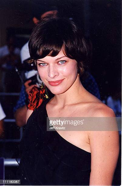 Milla Jovovich during 'Eyes Wide Shut' Premiere in Los Angeles California United States