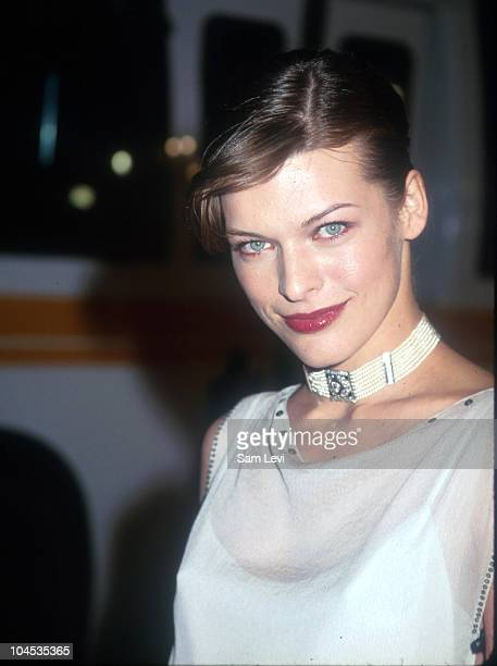 Milla Jovovich during 'The Messenger' Beverly Hills Premiere at The Academy in Beverly Hills California United States