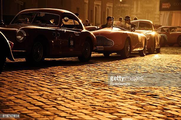 Mille Miglia-Vintage auto da corsa
