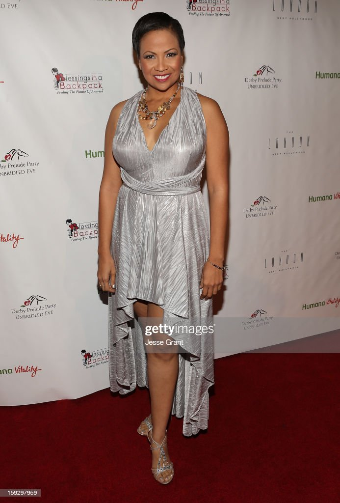 Millena Gay attends The 4th Annual Unbridled Eve Derby Prelude Party at The London West Hollywood on January 10, 2013 in West Hollywood, California.