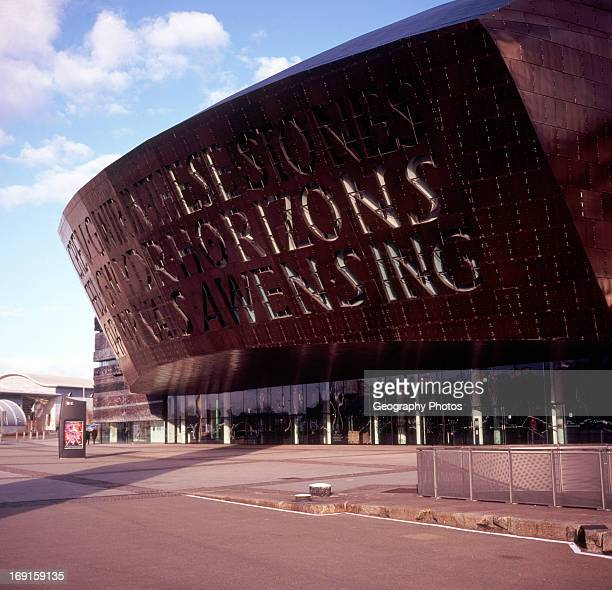 Millenium Centre building Cardiff Bay Cardiff Wales