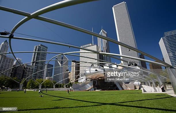 Millenium Park Skyscrapers