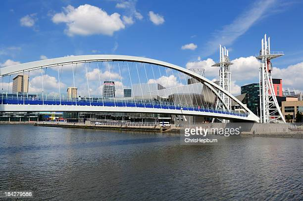 Millennium Bridge, Salford Quays, Manchester