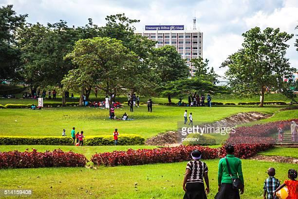 Millennium Park. Abuja, Nigeria.