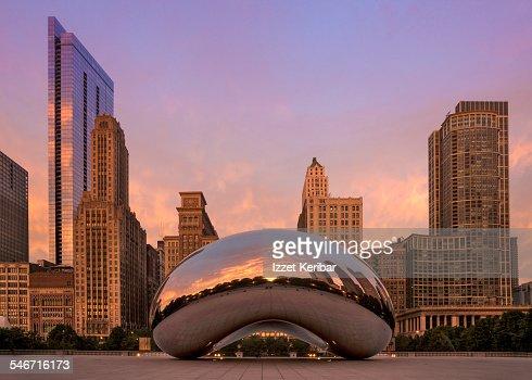 Millennium Park in Chicago,Illinois