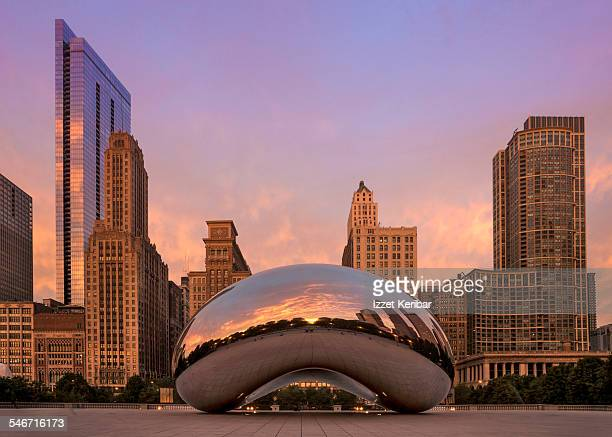 Millennium Park in Chicago,Illinois