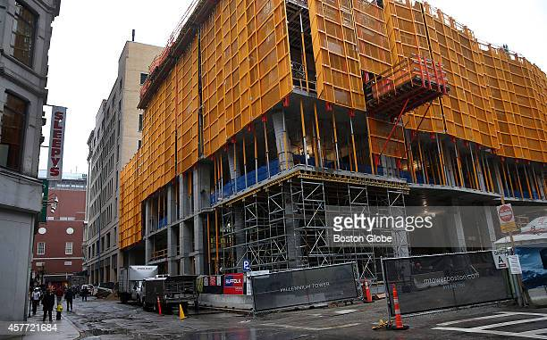 Millennium Tower Boston's newest condominium tower in Downtown Crossing is expected to achieve record levels of pricing and demand from an...