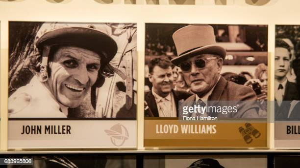 JJ Miller and Lloyd Williams plaques at National Sports Museum on May 17 2017 in Melbourne Australia
