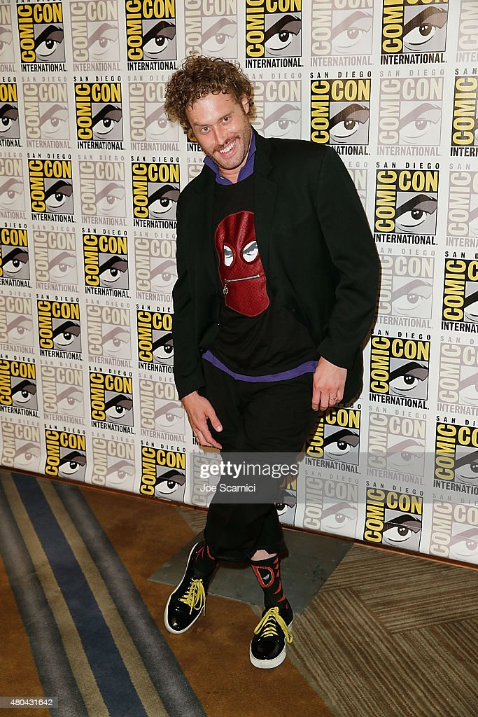 T.J. Miller attends the 20'th Century Fox Press Line at Comic-Con International 2015 Day 3 on July 11, 2015 in San Diego, California.