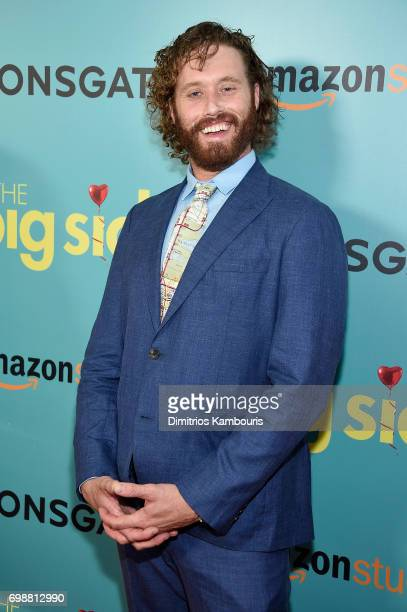 J Miller attends 'The Big Sick' New York Premiere at The Landmark Sunshine Theater on June 20 2017 in New York City