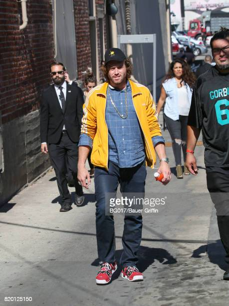 T J Miller is seen at 'Jimmy Kimmel Live' on July 20 2017 in Los Angeles California