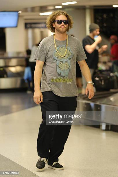 Miller is seen at LAX on June 03 2015 in Los Angeles California