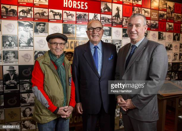 JJ Miller Lloyd Williams and Greg Carpenter at National Sports Museum on May 17 2017 in Melbourne Australia