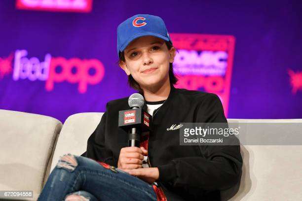 Millie Bobby Brown attends C2E2 Chicago Comics and Entertainment Expo at McCormick Place on April 23 2017 in Chicago Illinois