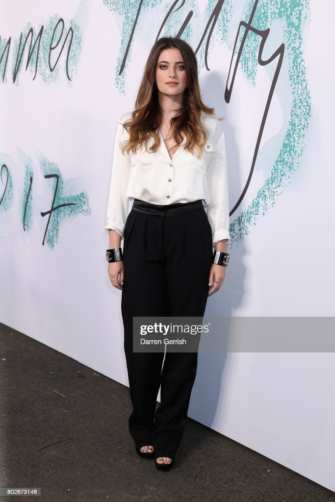 Millie Brady attends the Summer Party 2017 presented by Serpentine and Chanel at The Serpentine Gallery on June 28, 2017 in London, England.