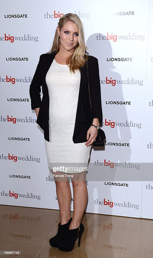 Millie Clode attends a special screening of 'The Big Wedding' at May Fair Hotel on May 23, 2013 in London, England.