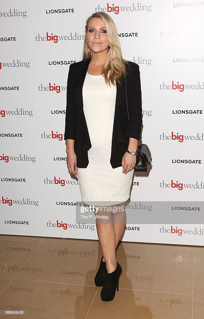 Millie Clode attends Special screening of 'The Big Wedding' at May Fair Hotel on May 23, 2013 in London, England.