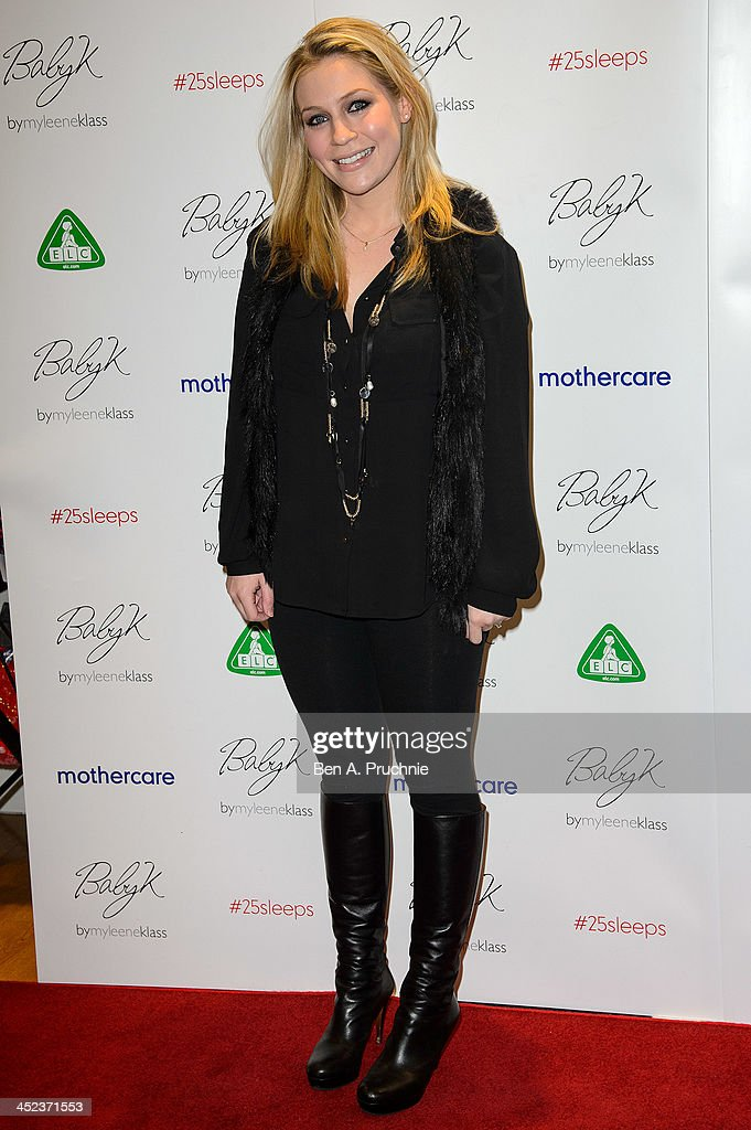 Millie Clode attends the Mothercare VIP Christmas party at the newly refurbished Oxford Street Store at Mothercare Oxford Street on November 28, 2013 in London, England.