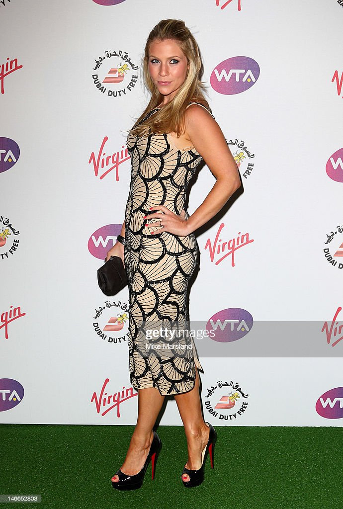 Millie Code attends the Pre-Wimbledon Party at Kensington Roof Gardens on June 21, 2012 in London, England.