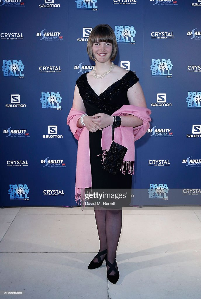 <a gi-track='captionPersonalityLinkClicked' href=/galleries/search?phrase=Millie+Knight&family=editorial&specificpeople=12423053 ng-click='$event.stopPropagation()'>Millie Knight</a> attends ParaSnowBall 2016 Disability Snowsport UK sponsored by Crystal Ski Holidays and Salomon, at The Hurlingham Club on April 28, 2016 in London, England.