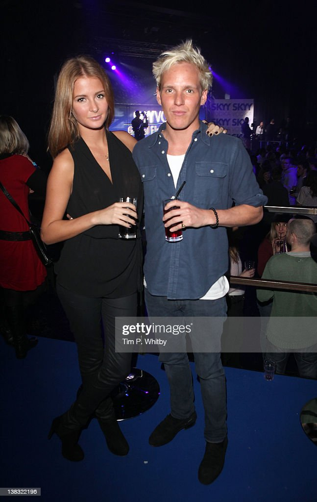 Millie Mackintosh and Jamie Laing pictured at The Skyy Vodka Global Flair Challenge Finals in London 2012 at Electric Brixton on February 5, 2012 in London, England.