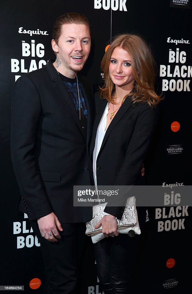 <a gi-track='captionPersonalityLinkClicked' href=/galleries/search?phrase=Millie+Mackintosh&family=editorial&specificpeople=7864153 ng-click='$event.stopPropagation()'>Millie Mackintosh</a> and <a gi-track='captionPersonalityLinkClicked' href=/galleries/search?phrase=Professor+Green&family=editorial&specificpeople=6919860 ng-click='$event.stopPropagation()'>Professor Green</a> attend Esquire's Little Black Book party at Sushi Samba on March 26, 2013 in London, England.