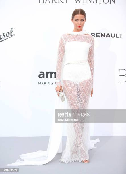 Millie Mackintosh arrives at the amfAR Gala Cannes 2017 at Hotel du CapEdenRoc on May 25 2017 in Cap d'Antibes France